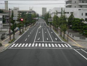 壬生川新居浜野田線舗装工事
