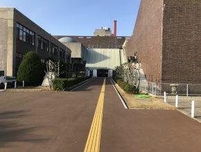 文化センター入口改修工事