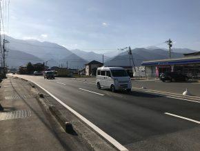 道路改修工事 新居浜市東田