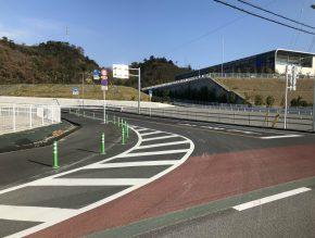 新居浜東港線道路改修工事
